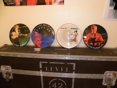 The LEVEL Room ... my Picture disc Collection