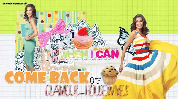 DESPERATE HOUSEWIVES Que diriez-vous si Glamour-housewives revenez ?