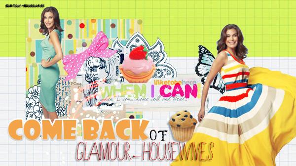 DESPERATE HOUSEWIVES Que diriez-vous si Glamour-housewives revenez ?