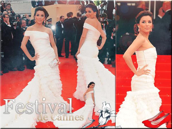 DESPERATE HOUSEWIVES Eva Longoria au Festival de Cannes 2010, le 12 Mai, pour la premiere de Robin des Bois.