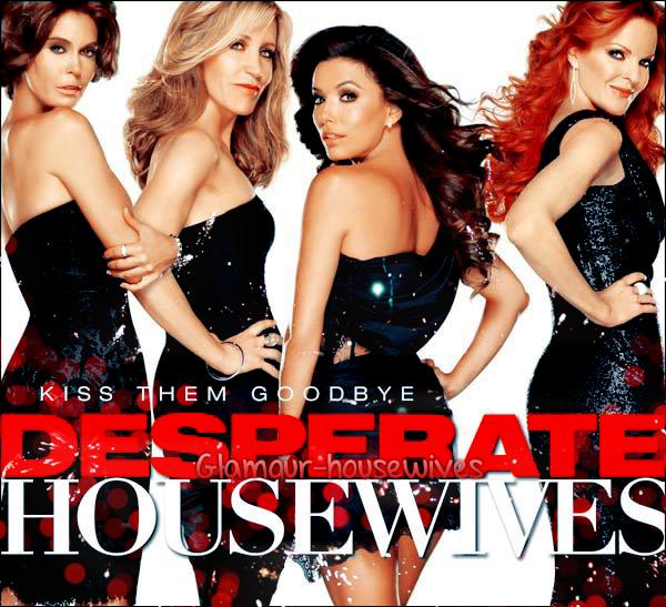DESPERATE HOUSEWIVES Photo individuelle de la saison 8 + Poster