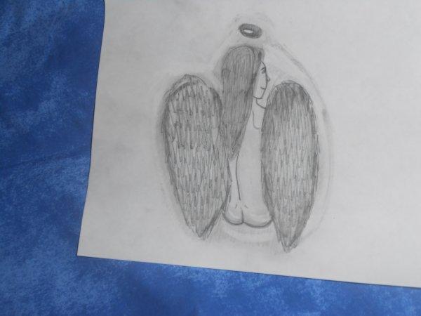 mon premier VRAI dessin