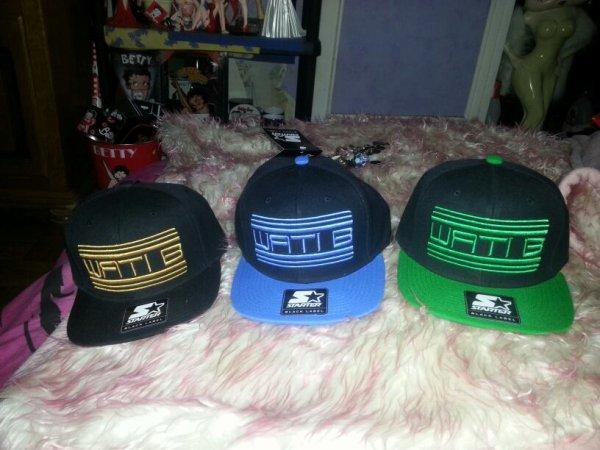 nos casquettes de wati b