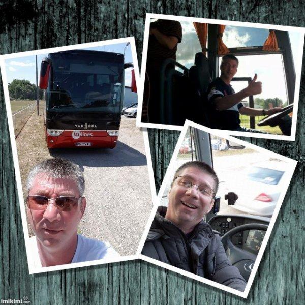 monsieur chauffeur en voyage bus