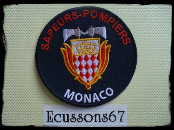 Ecusson sapeurs pompiers de monaco blog de ecussons67 - Ecusson as monaco ...