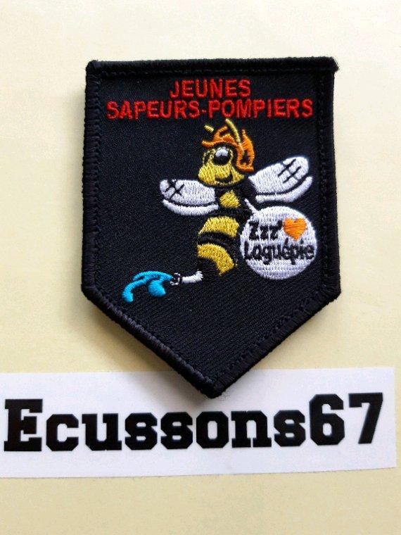 Voilà l'ecusson des jsp de Laguépie dép.82