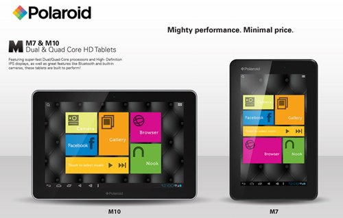 Polaroid Announces Two Jelly Bean Tablets at CES 2013. For more info plz visit http://tinyurl.com/b827gta