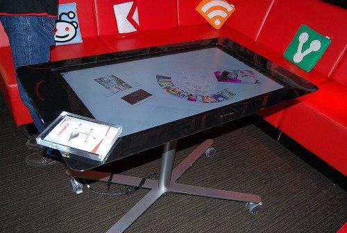 Lenovo's 39-inch Concept Table PC. For more info plz visit http://tinyurl.com/d58grpl