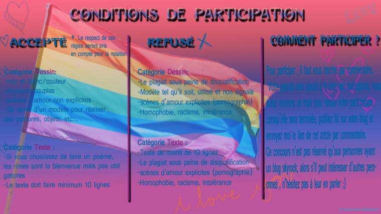 """Nouveau concours dessin/Texte  """" Amour pour tous"""" -> Clôturé !"""