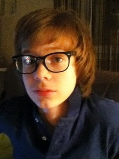 ma nouvelle coupe et met nouvelle lunette