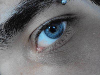 My eyes...