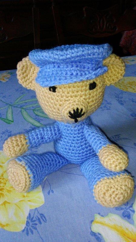 L'ours à casquette