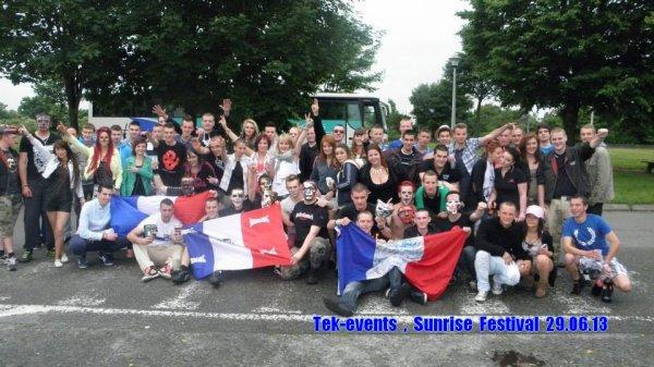 Bus Sunrise festival - samedi 29 juin 2013
