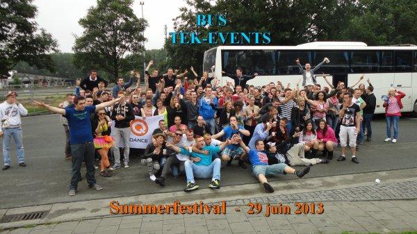Bus Summerfestival - samedi 29 juin 2013