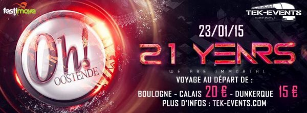 21 years The Oh - vendredi 23 janvier 2015