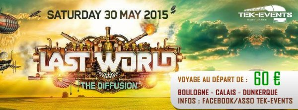 Bus pour Last World - 30 mai 2015