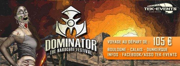 Dominator -18  juillet 2015 !!
