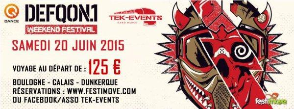 Defqon 1 - juin 2015 !!