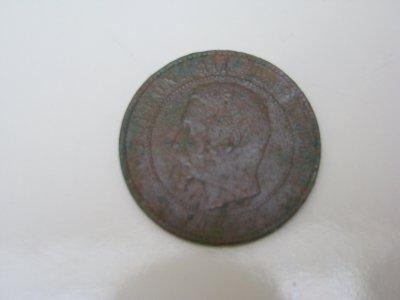 un napoleon III 1854