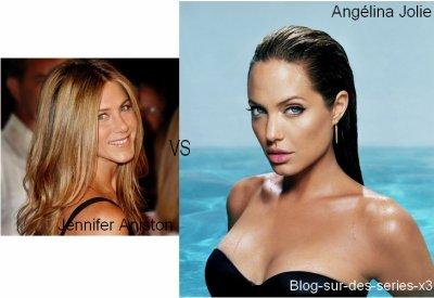 Angélina Jolie VS Jennifer Aniston :)