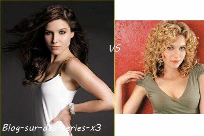 Sophia Bush VS Hilarie Burton ♥