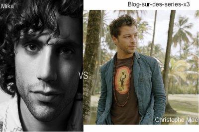 Mika VS Christophe Maé !