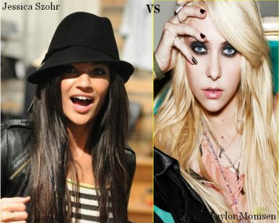 Taylor Momsen VS Jessica Szohr