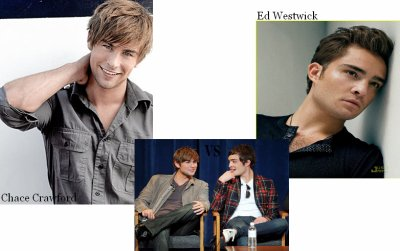 Chace Crawford VS Ed Westwick
