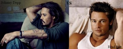 Johnny Depp VS Brad Pitt