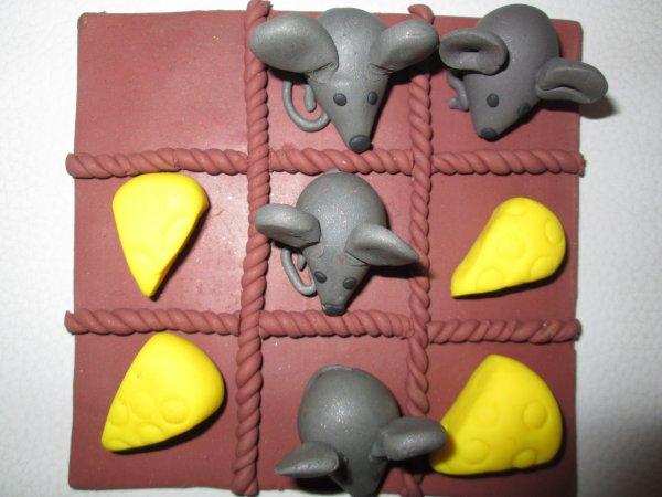 Les dernières créations : Boucles d'oreilles , bagues , jeux de morpions ...