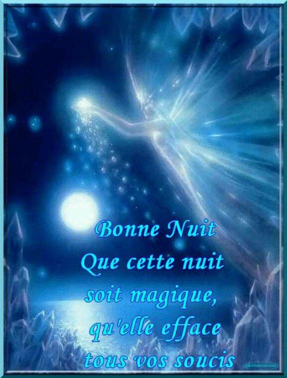 Bonne nuit à vous tous et toutes