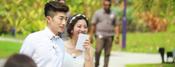 "EMISSION ""WE GOT MARRIED"" couple 2014"