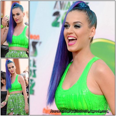04.04.2012.: Katy aux Kids Choice Awards.