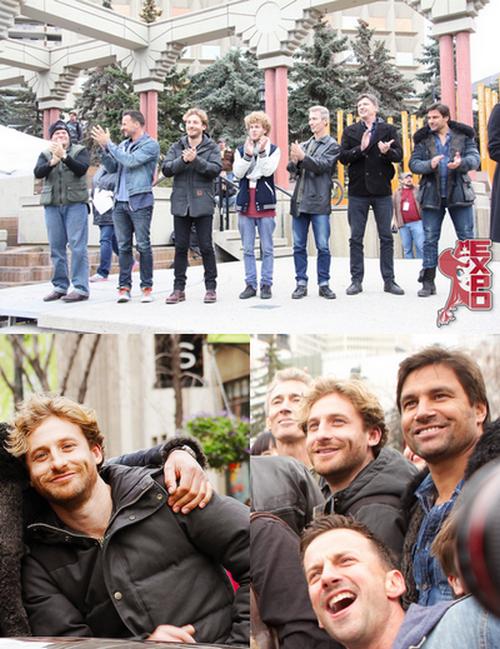 Dean au HobbitCon 2014 et à Calgary Expo 2014