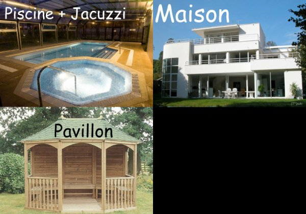 ~ Plan de la maison ~