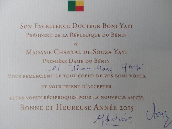 Bénin-Présidence.