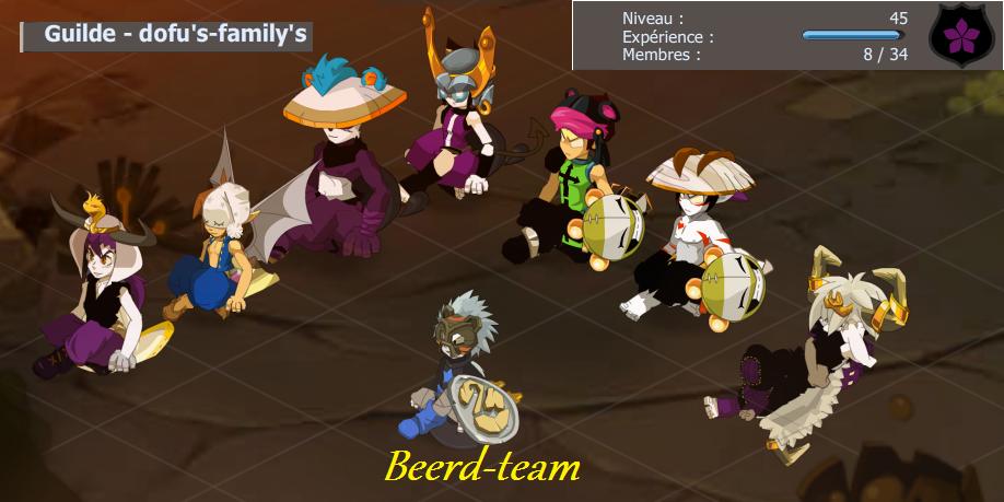 """Blog officiel de la team """"beerd-team"""", évoluant sur le serveur Hyrkul"""
