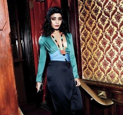 Vanessa Hudgens : Un shooting très glamour pour Instyle Magazine !