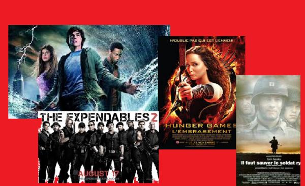 les films d'action et d'aventure !