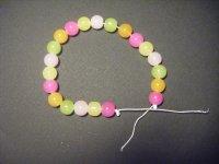 Bracelets pop acidulés et pailletés pour jolies girls!