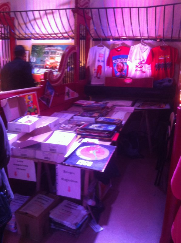 Le stand de Circus & Co à la bourse au cirque d'hiver Bouglione