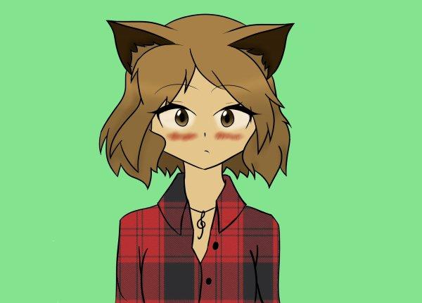 """Moi en mode """"chat"""" 2 (l'atelier dessin)"""