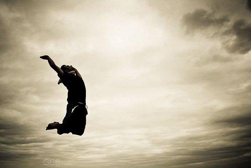 Je veux essayer de voler , pour tomber et ne jamais me relever ...