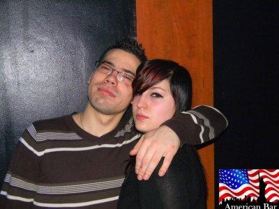 Ben et moi à l'American Bar