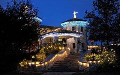 Maison de Britney Spears pour Noël