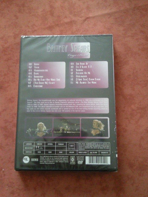 dvd Britney