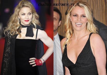 Madonna serait prête à travailler de nouveau avec Britney
