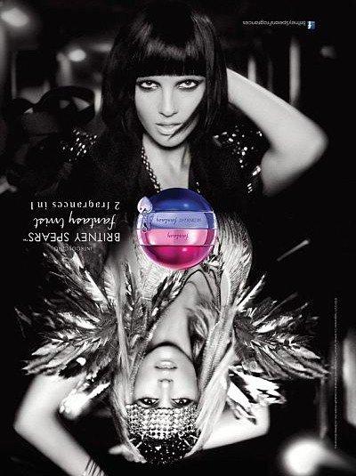 Britney Spears sort un parfum deux en un