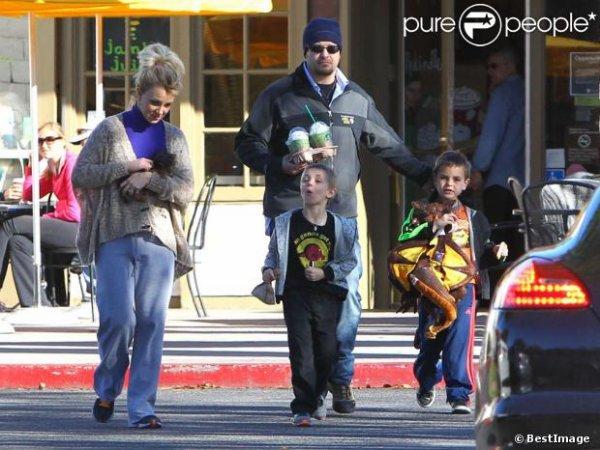 Britney Spears & ses fils !