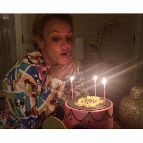 """Britney Spears : """"je n'aurais pas pu rêver d'un meilleur anniversaire"""""""